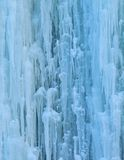 Frozen waterfall. Close up of frozen waterfall Stock Image