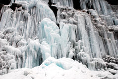 Free Frozen Waterfall And Snow Royalty Free Stock Photo - 50840105