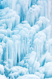 Frozen waterfall or fountain Stock Image