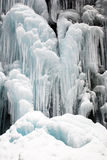 Frozen waterfall and Snow Stock Photos