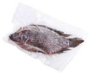 Frozen Whole Fish Royalty Free Stock Photos