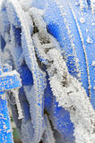 Frozen Winch Gear Royalty Free Stock Photos