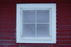 Frozen window Royalty Free Stock Photography
