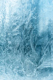 Frozen window Royalty Free Stock Images