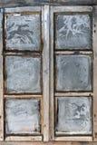 Frozen window Stock Image
