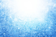 Frozen window Stock Images