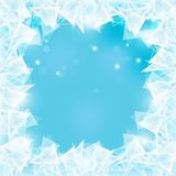 Frozen window Stock Photos