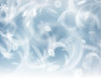 Frozen window background. Vector EPS10. Stock Photography