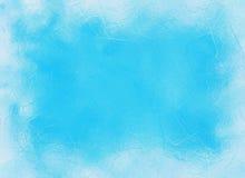 Frozen window ice blue frame backgrounds. Frozen window ice blue frame background Royalty Free Stock Photos