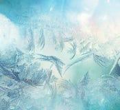 Frozen window Royalty Free Stock Photo