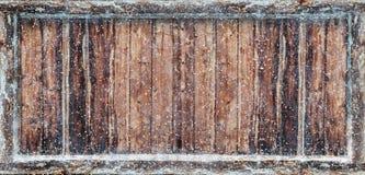 Frozen Winter Background. 3D Rendering Stock Photo