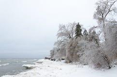 Frozen winter landscape Royalty Free Stock Photography