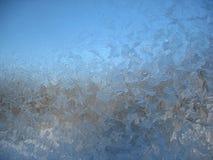 Frozen winter window Stock Image