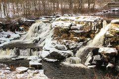 Extreme winter conditions in Pocono Mountains