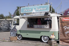 Frozen yoghurt Royalty Free Stock Photo