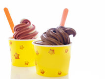 Frozen Yogurt Royalty Free Stock Photography