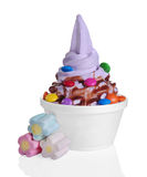 Frozen Yogurt Stock Photos