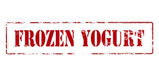 Frozen yogurt Stock Photos