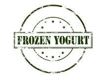Frozen yogurt Royalty Free Stock Image