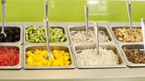 ‎Frozen Yogurt Toppings Stock Images