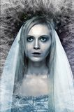 Frozen zombie corpse bride Stock Photography