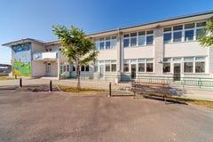 Förskole- byggnad Arkivfoto