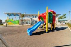 Förskole- byggnad Arkivbild