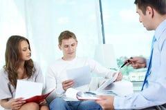 Försäkringprogram Royaltyfri Fotografi