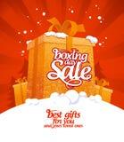 Försäljning för boxningdag Fotografering för Bildbyråer