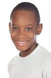 förtjusande afrikansk pojke Arkivfoton