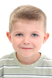 förtjusande gammalt år för pojke fyra Arkivfoton