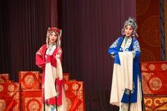 """Fruar av generaler för broderPekingOpera"""" kvinnor av Yang Familyâ € arkivbild"""