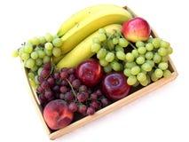 Frucht auf dem Tellersegment Stockfoto