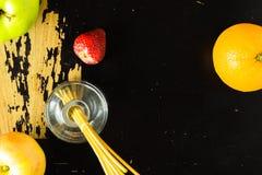 Frucht auf Tabelle Lizenzfreie Stockfotografie