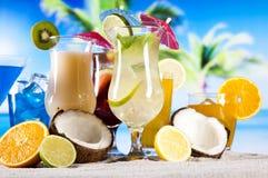 Frucht cocktail lizenzfreies stockfoto