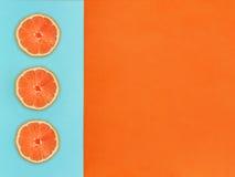 Frucht in der Ebenenlage Lizenzfreies Stockbild