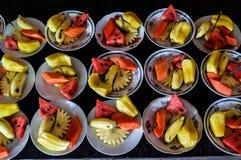 Frucht in der Mekong-Delta Lizenzfreie Stockfotos