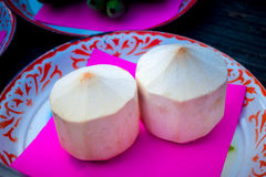 Frucht in der thailändischen Hochzeit Lizenzfreie Stockfotografie