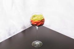 Frucht in einem Glas Lizenzfreies Stockfoto