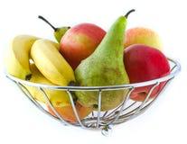 Frucht in einem Vase Lizenzfreies Stockfoto