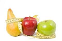 Frucht eingewickelt im Zentimeter Lizenzfreie Stockbilder