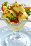 Frucht-Eiscreme Stockfotos