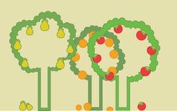 Frucht-Garten Lizenzfreies Stockfoto