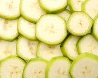 Frucht gehackt von der Banane lizenzfreie stockfotos