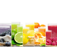 Frucht-Getränk-Mischung Lizenzfreie Stockbilder