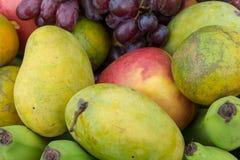 Frucht im Korb Tropische Frucht Stockfotografie