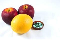 Frucht ist die beste Medizin Lizenzfreies Stockbild