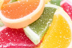 Frucht Jelly Background Stockbild