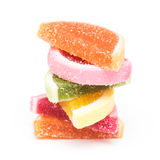 Frucht Jelly Top Group Isolated Stockfotografie