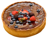 Frucht-Kuchen Lizenzfreie Stockbilder